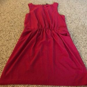 Gap light weight dress with pockets size med pink